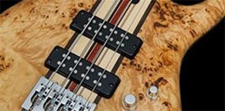White D85 Set of 2 Bass Guitar Pickups PB-Custom for PB Precision Bass