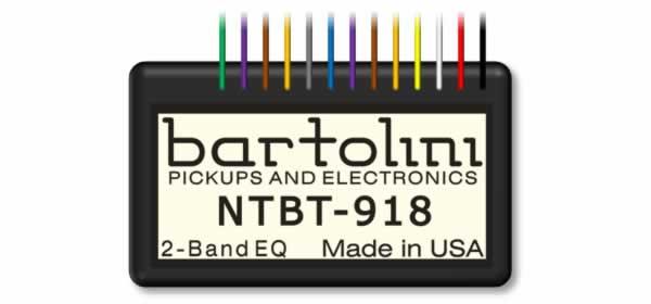 Bartolini NTBT Preamps