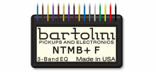 Bartolini NTMB Preamps