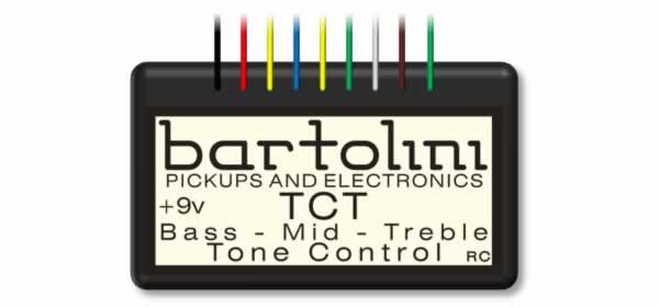 Bartolini TCT Preamps