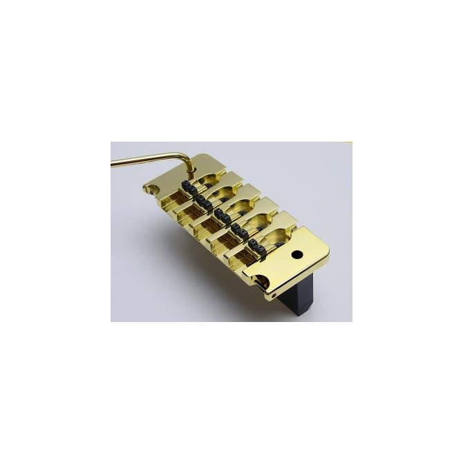 Hipshot 5String Bass Tremolo Piezo .750 Bridge Gold 19mm Spacing