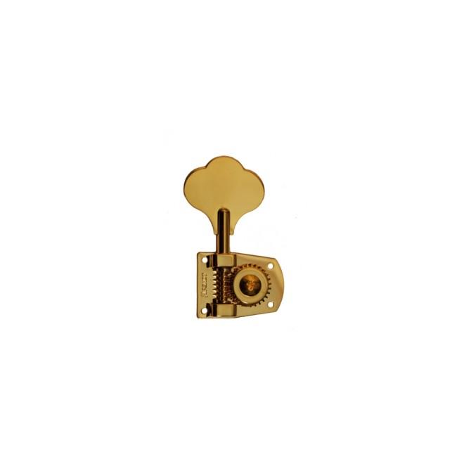 Hipshot Machine Head Tuner - HB7 - Gold - Treble Side