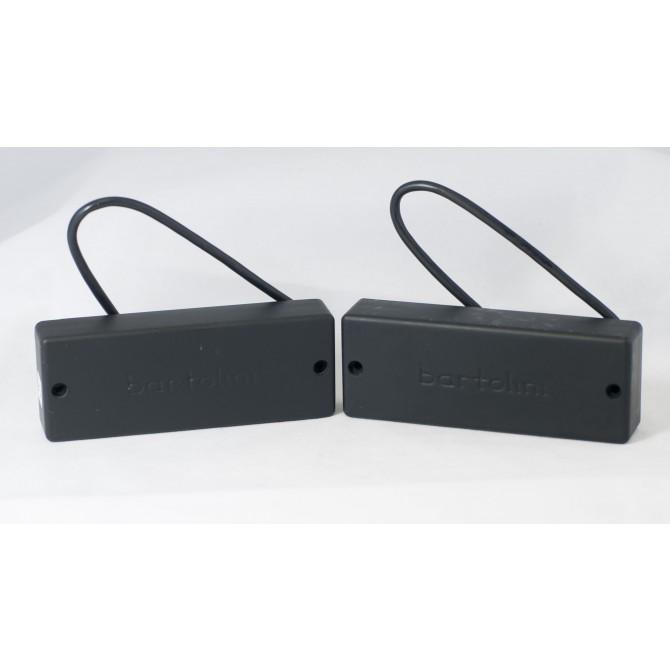 Bartolini CF4CBC 4 String CF Size Classic Bass Dual Coil Set