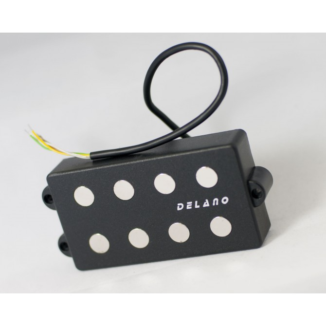 Delano MC4 FE/J-M2 4 String MusicMan Size Quad Coil Pickup