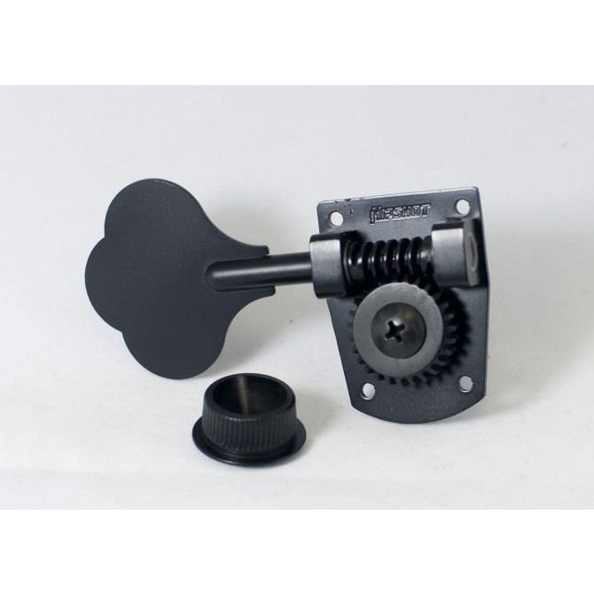 Hipshot HB7 Machine Head Tuner Black Treble Side