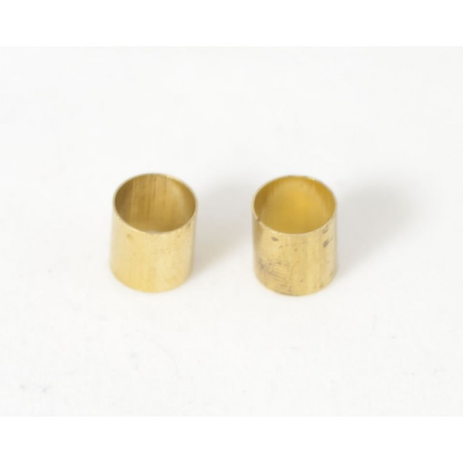 Brass Pot Sleeves (Set of 2)