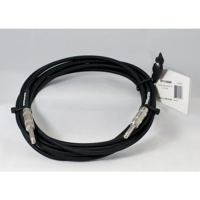 DiMarzio - Cable - Black 15 Foot ST/ST