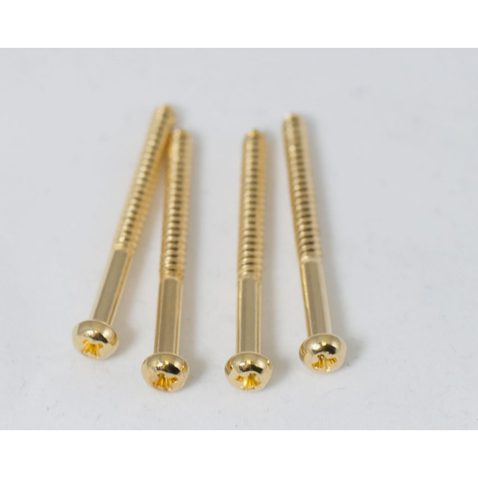 Pickup Screws - Gold (Pack of 4)