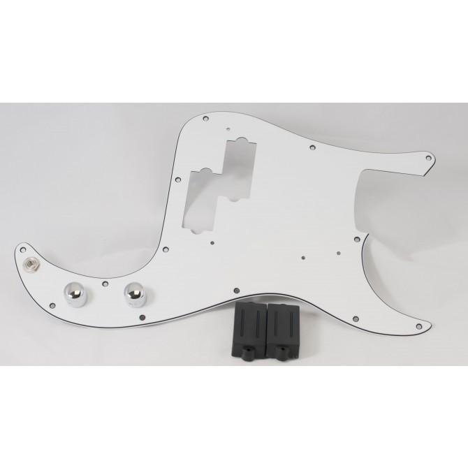 Dimarzio DP127BK (With Control Plate) 4 String Precision Size Split P Split Coil Pickup