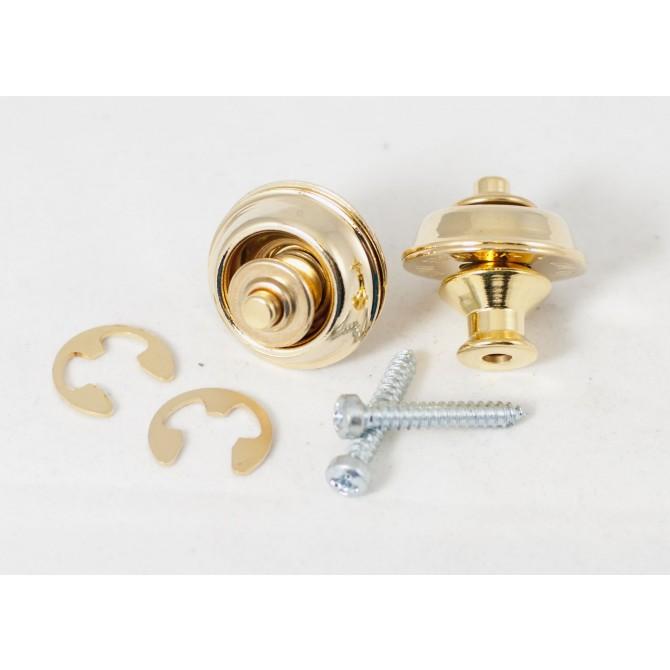 Dunlop - Dual Design Straplok System - Gold
