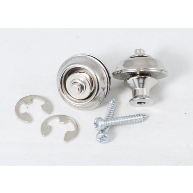 Dunlop - Dual Design Straplok System - Nickel