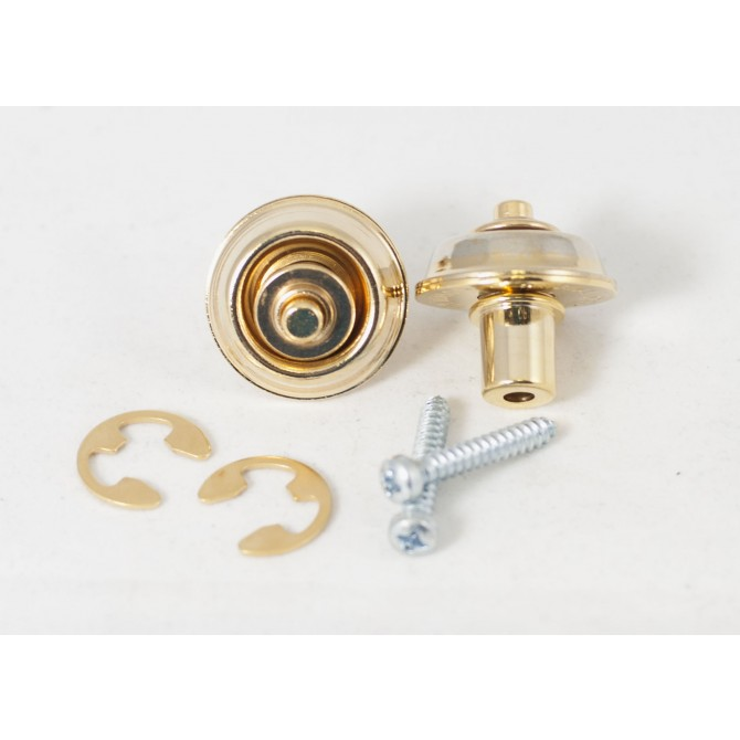 Dunlop - Flush Mount Straplok Set - Gold