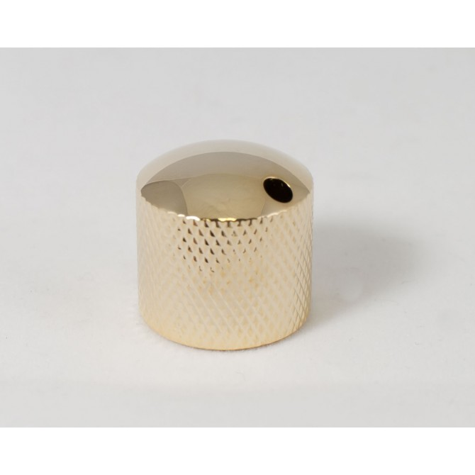 Glockenklang - Euro-Style Dome Knob - Gold