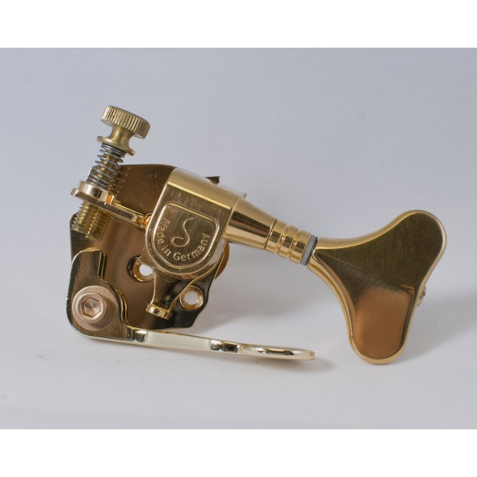 Hipshot Bass Xtender M4 Gold Bass Side