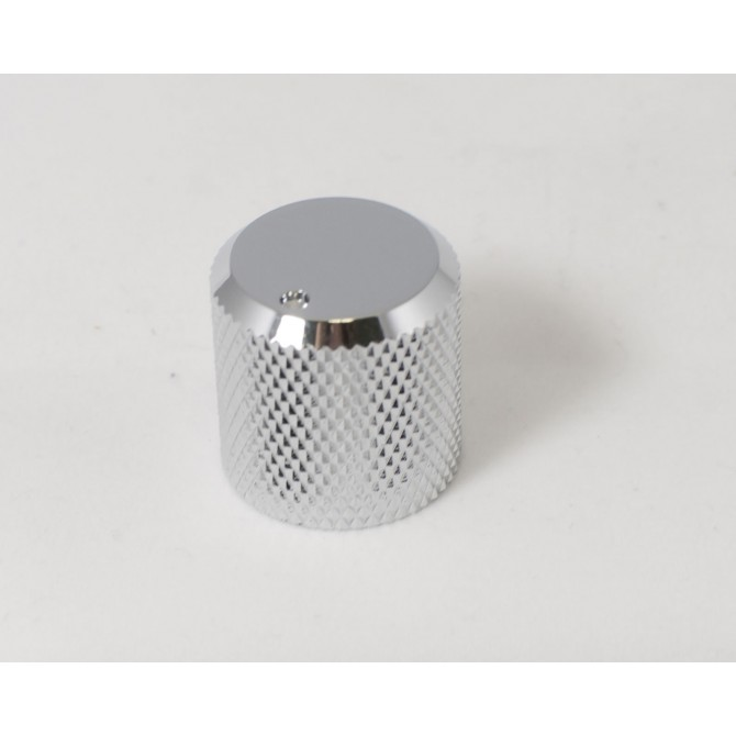 Metal Beveled Knob - Chrome Metal Knobs