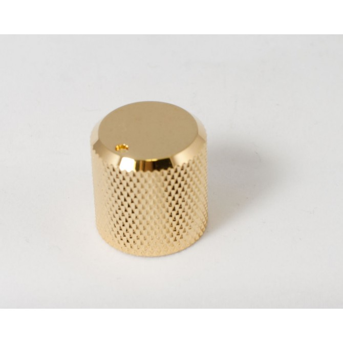 Metal Beveled Knob - Gold Metal Knobs