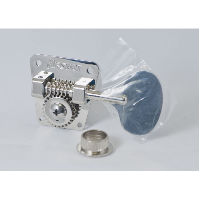 Hipshot HB2L Machine Head Tuner Nickel Bass Side