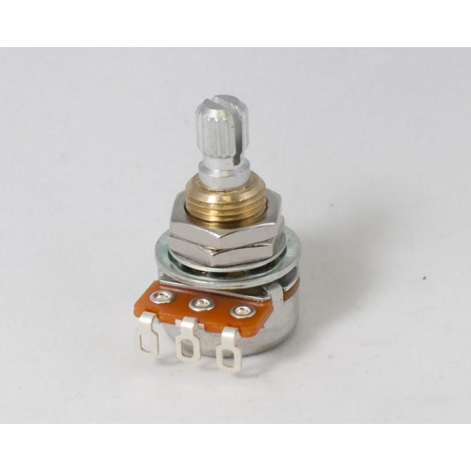 Noble 50k EQ Potentiometer Linear Taper Center Detente 6mm Split Shaft