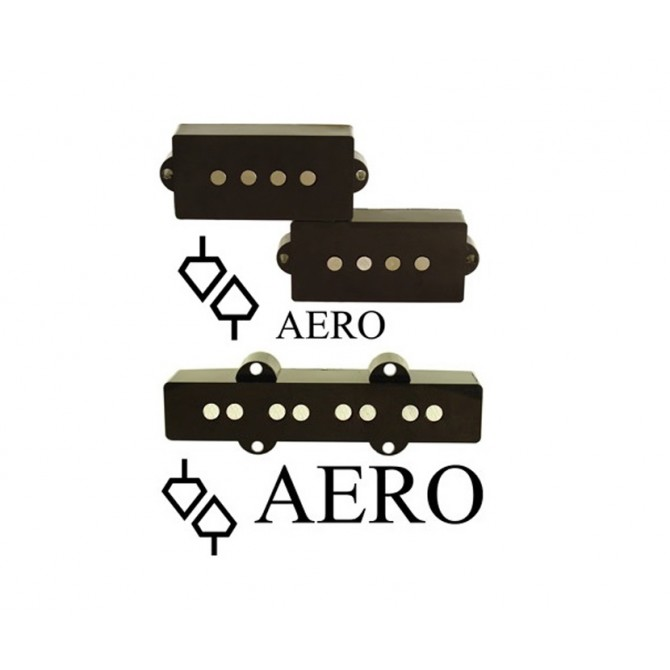 Aero Type 3 4 String P/J Size Set