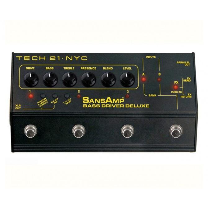 Tech 21 - Sansamp Bass Driver Deluxe