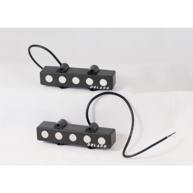 Delano JMVC5 FE 5 String Jazz L/L Size Split Coil Set