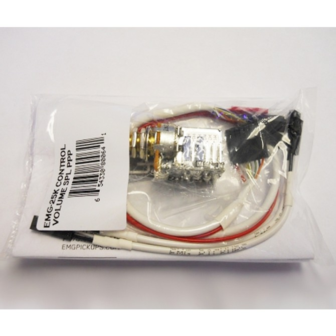 EMG 25K SPL Control  Volume Push Pull Potentiometer