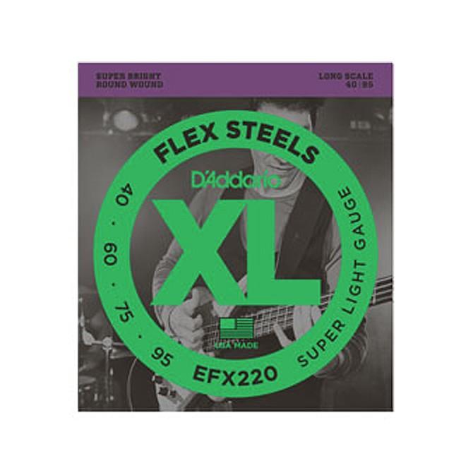 Daddario FlexSteels Series - EFX220 4 String Set (Discontinued by Manufacturer)