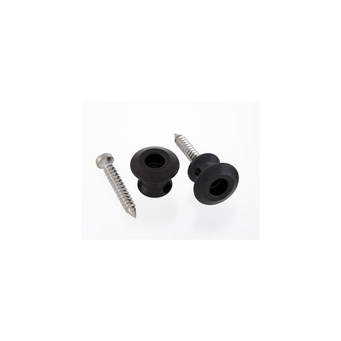 Dunlop Black Strap Buttons