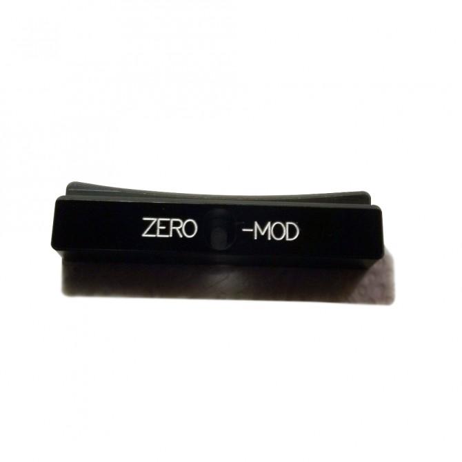 Zero Mod PB-1 Precision Bass Thumb Rest Black