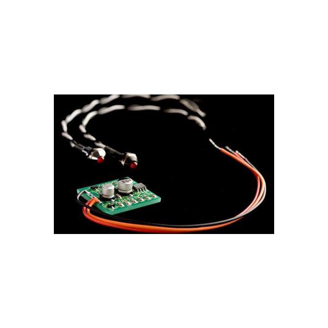 John East - BLI-01 - Black led bezel
