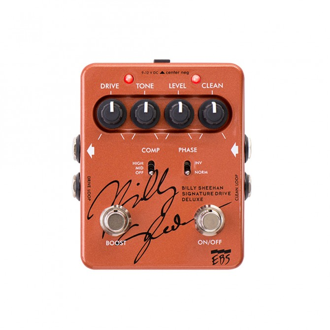 Billy Sheehan Signature Drive Deluxe Pedal