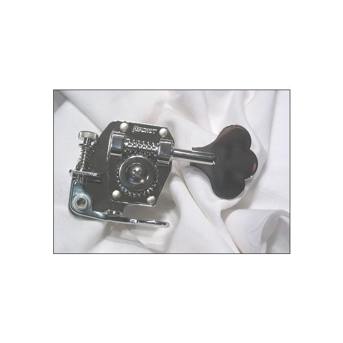 Hipshot Bass D-Tuner - BT1 - Nickel - Treble Side - Regular