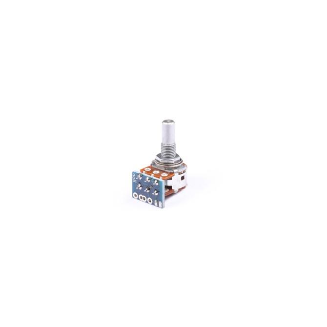 NOLL 250k Blend Potentiometer A/C Taper 6mm Solid Shaft