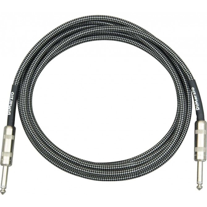 DiMarzio - Cable - Black/Gray 21 Foot