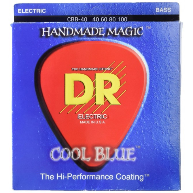 DR CBB-40 Cool Blue 4 String Light (40 - 60 - 80 - 100) Long Scale
