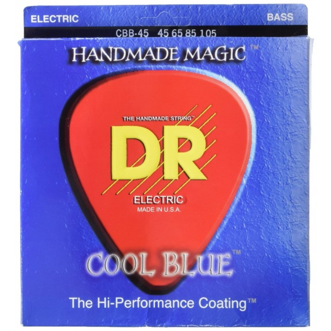 DR CBB-45 Cool Blue 4 String Medium (45 - 65 - 85 - 105) Long Scale