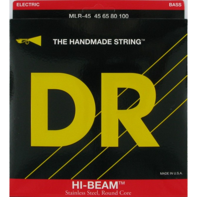 DR MLR-45 Hi Beam 4 String Med Light (45 - 65 - 80 - 100) Long Scale