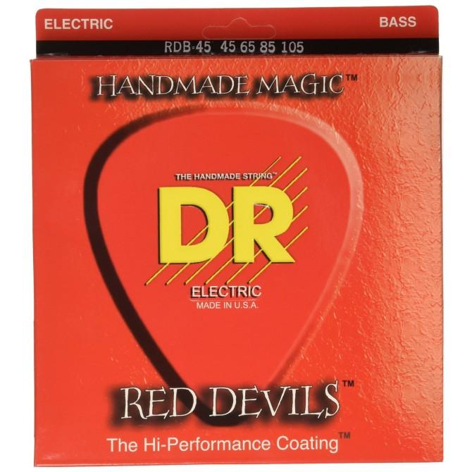 DR RDB-45 Red Devils 4 String Medium (45 - 65 - 85 - 105) Long Scale
