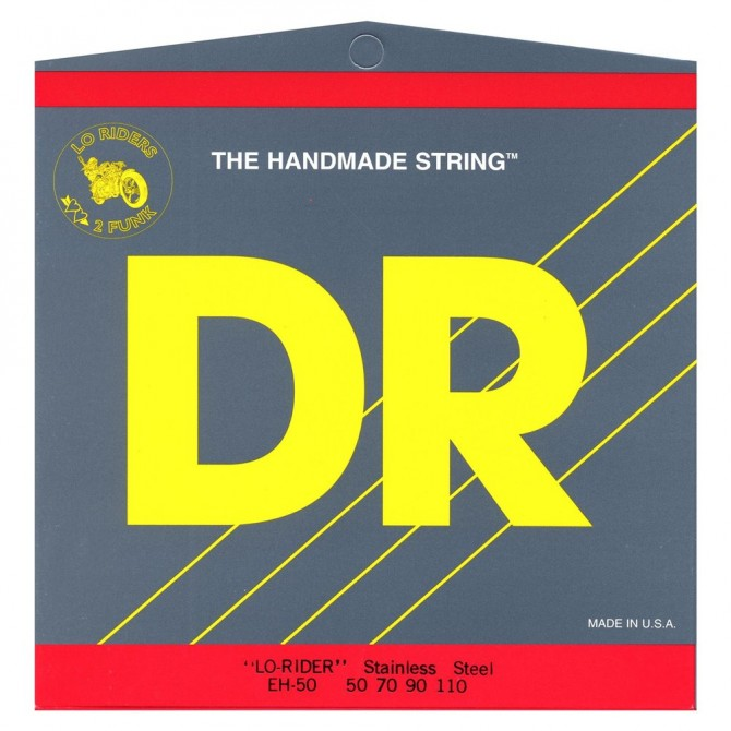 DR MH5-45 Lo Rider 5 String Medium (45 - 65 - 85 - 105 - 125) Long Scale