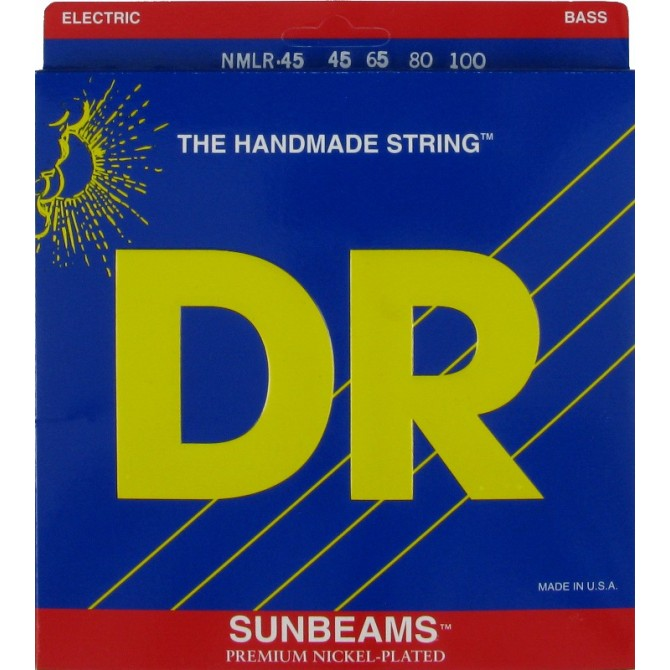DR NMLR-45 Sunbeam 4 String Medium Light (45 - 65 - 80 - 100) Long Scale