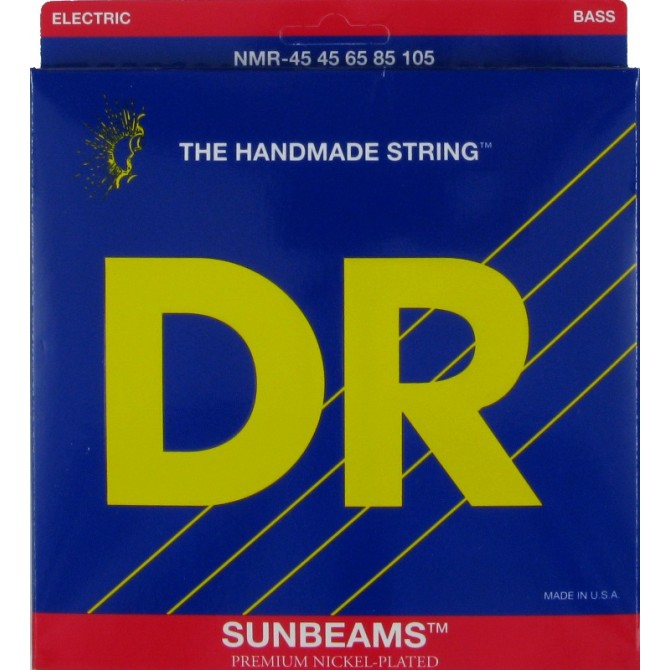 DR NMR-45 Sunbeam 4 String Medium (45 - 65 - 85 - 105) Long Scale