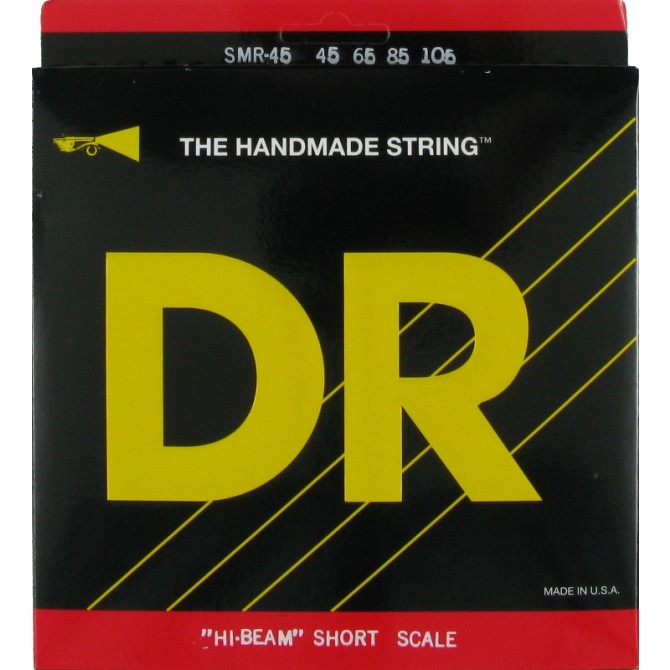 DR SMR-45 Hi Beam 4 String Medium (45 - 65 - 85 - 105) Short Scale