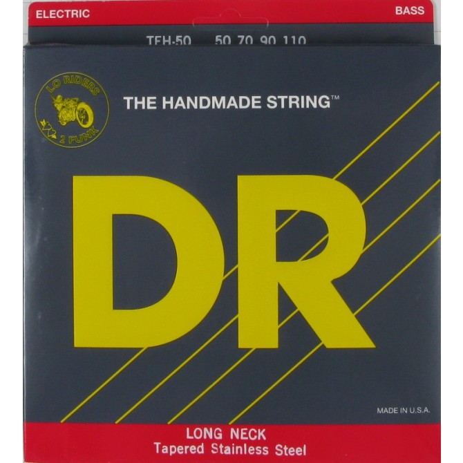 DR TEH-50 Long Necks 4 String Heavy (50 - 70 - 90 - 110) Long Scale