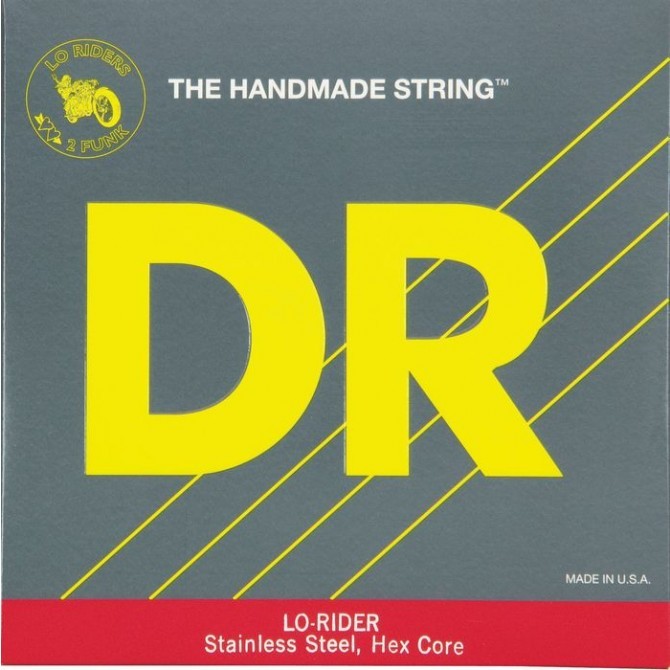 DR LH5-40 Lo Rider 5 String Light (40 - 60 - 80 - 100 - 120) Long Scale