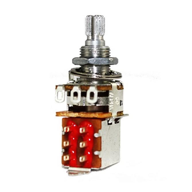 Alpha 25k Volume Potentiometer Audio Taper Push/Pull 6mm Split Shaft