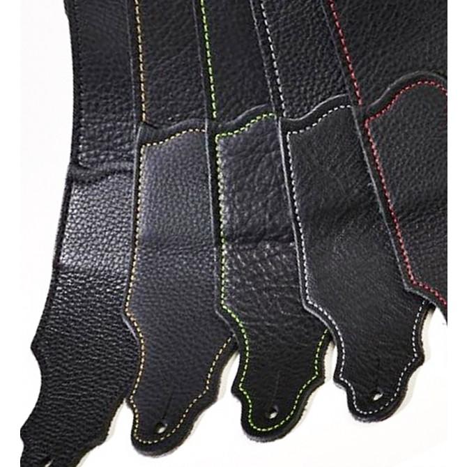 "Franklin Original Black Glove 3"" Strap with Gold Stitch"