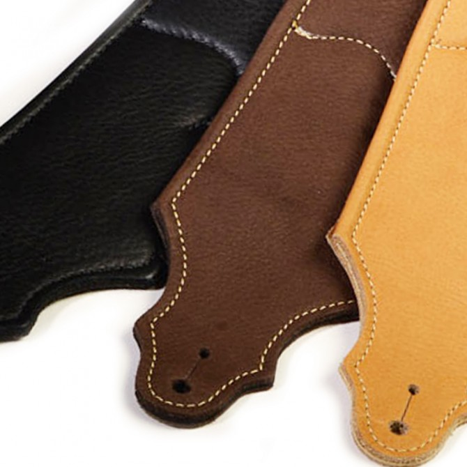 """Franklin Padded Glove 2.5"""" Chocolate Strap with Natural Stitch"""