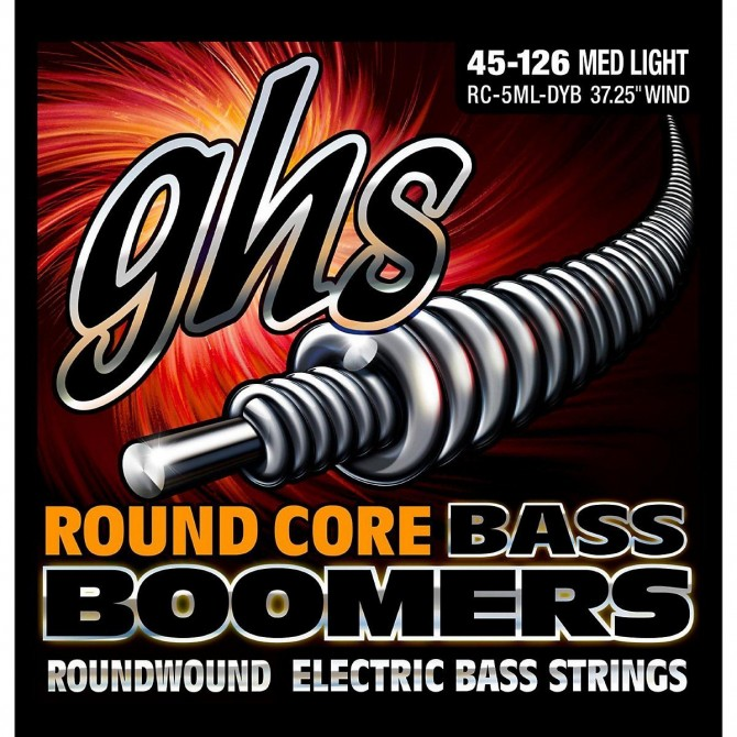 GHS Round Core Bass Boomers