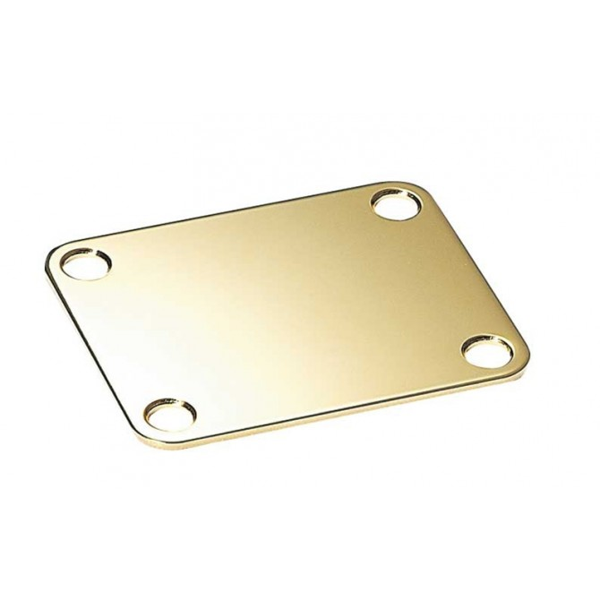Gold Neckplate