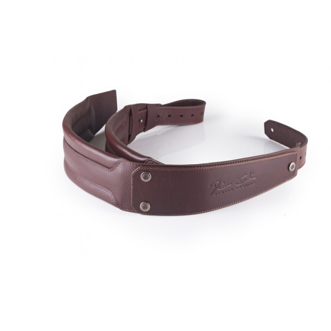 GruvGear DuoStrap Signature Brown Leather Ergonomic Double Strap